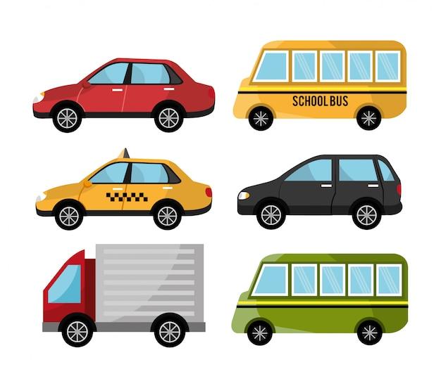 Veículos de desenho urbano