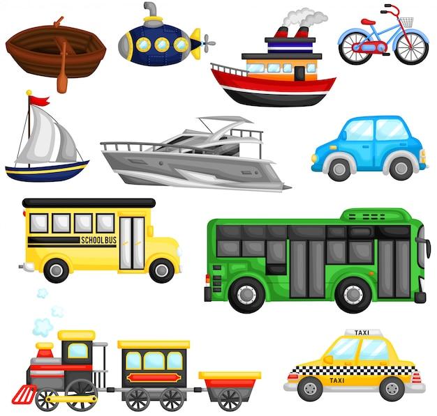 Veículos de transporte