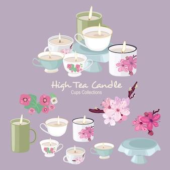 Vela de chá