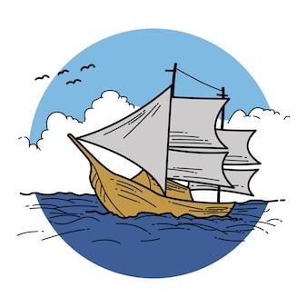 Vela de ilustração
