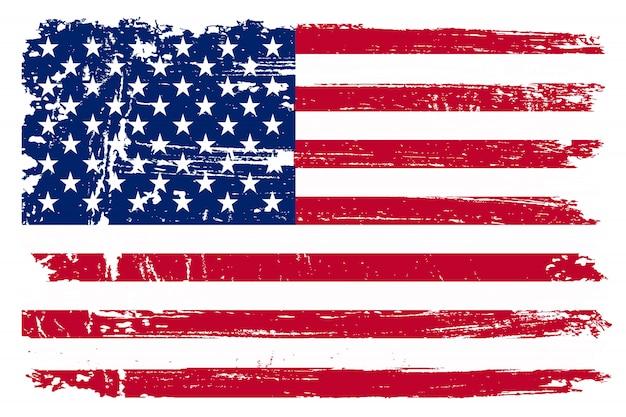 Velha bandeira americana