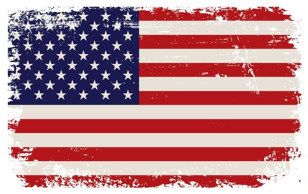 Velha bandeira dos eua