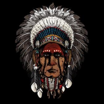 Velho guerreiro indiano