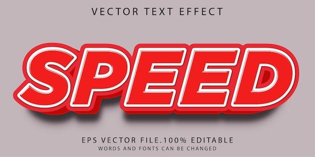 Velocidade de efeitos de texto