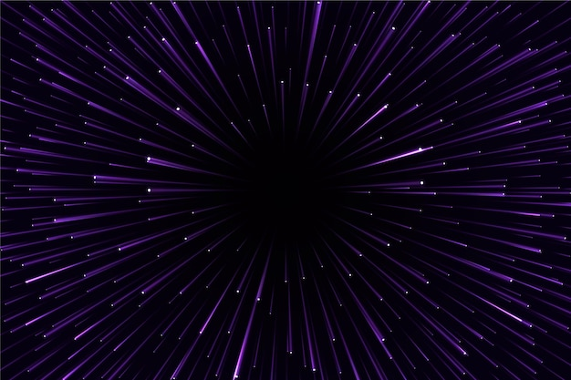 Velocidade futurista luz de fundo