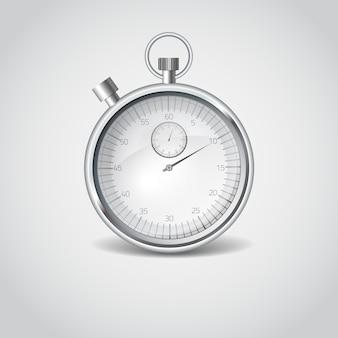 Velocidade, início, relógio, medida, seta