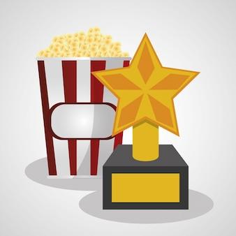 Vencedor de pop corn e troféu do cinema