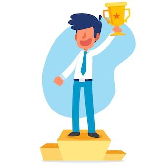 Vencedor do empresário