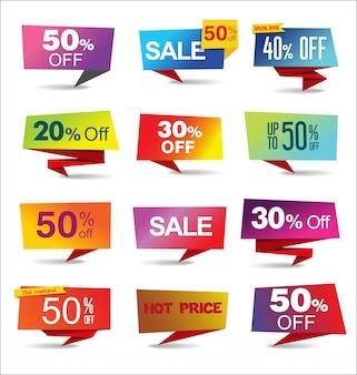 Venda adesivos e etiquetas coleção arco-íris moderno