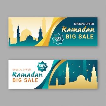 Venda de banner do ramadã