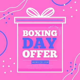 Venda de boxing day design plano