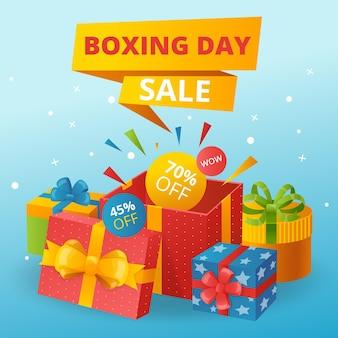 Venda de boxing day design plano