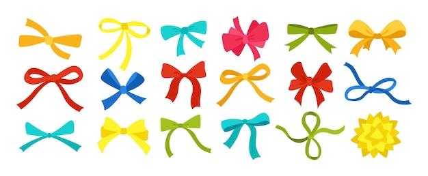 Venda de embalagens de decoração de conjunto colorido de fita de arco