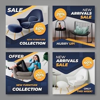 Venda de móveis coleção ig post