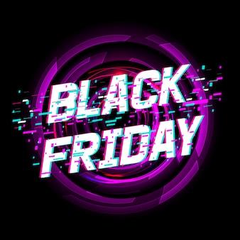 Venda de sexta-feira negra de fundo.