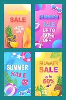 Venda de verão fora do preço