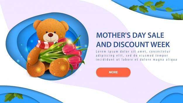 Venda do dia das mães e semana de desconto