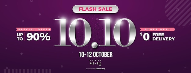 Venda instantânea e entrega gratuita com fundo de venda 1010 com números prateados