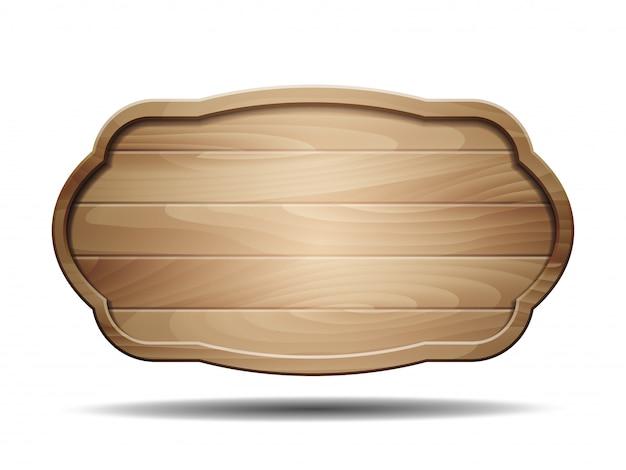 Venda placas de sinalização de madeira