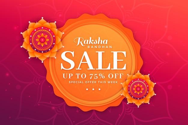 Vendas planas de raksha bandhan