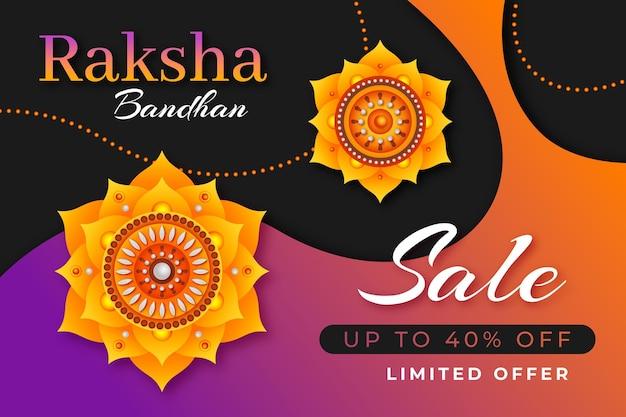 Vendas realistas de raksha bandhan