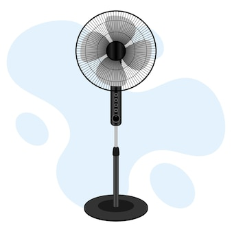 Ventilador elétrico suporte ventilador