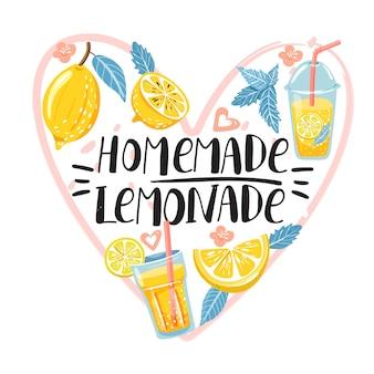 Verão com limão e limonada.