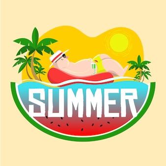 Verão e descanso