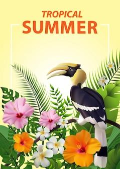 Verão na moda tropical