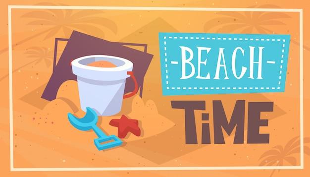 Verão praia tempo férias mar viagens retro bandeira litoral férias