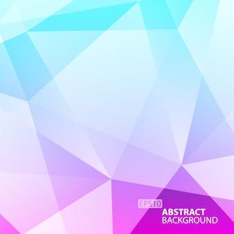 Verde abstrato - fundo geométrico violeta. ilustração