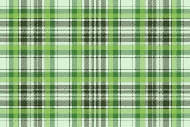 Verde irlanda verificar sem costura padrão de tecido xadrez