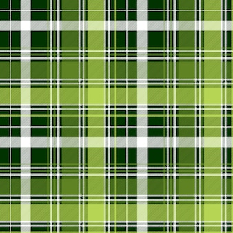 Verde irlandês diagonal abstrata sem costura padrão xadrez