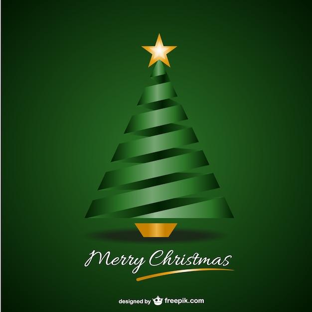 Verde merry christmas background