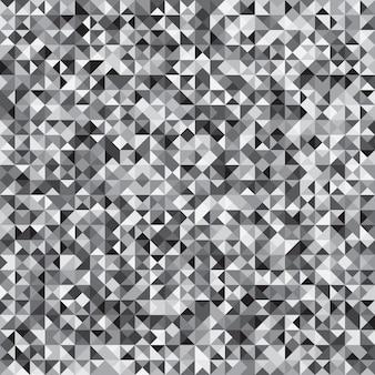 Verificação de mosaico cinza pixelizada de fundo