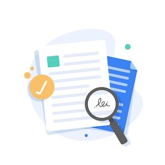Verificar a assinatura do cheque do contrato; estudo dos termos do acordo. assinatura do documento comercial