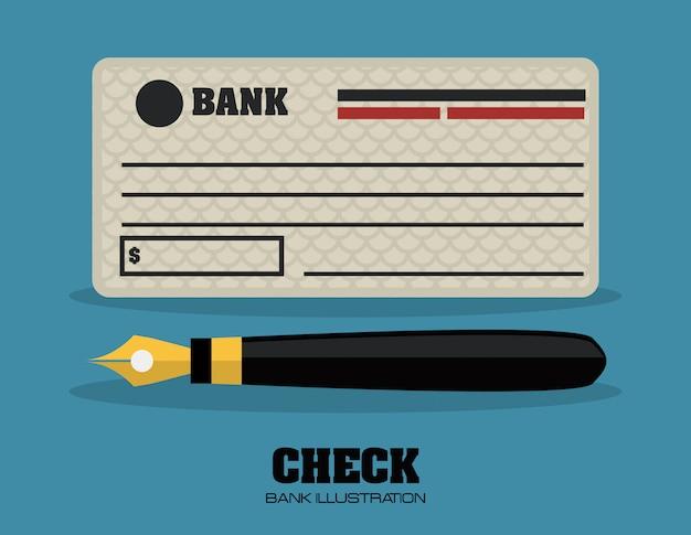 Verifique o design do banco