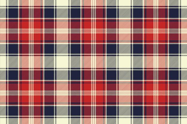 Verifique o padrão sem emenda de linhas diagonais de textura de tecido