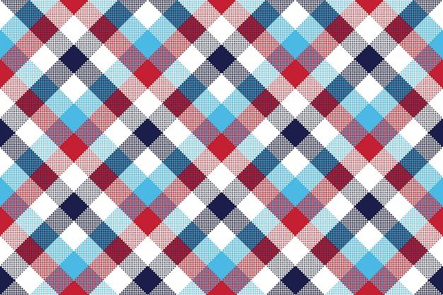 Verifique o padrão sem emenda de pixel xadrez