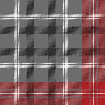Verifique o padrão sem emenda de textura de tecido diagonal xadrez