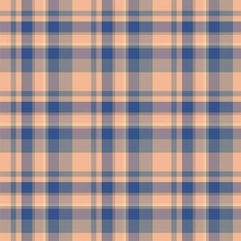Verifique o padrão sem emenda xadrez. de fundo vector de ornamento têxtil. projeto de tecido plano. tartan.