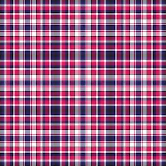 Verifique o padrão sem emenda xadrez. fundo de ornamento têxtil.
