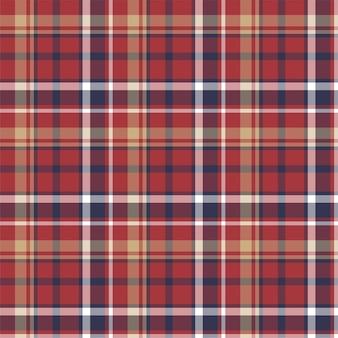 Verifique o padrão sem emenda xadrez. projeto de tecido plano. tartan.