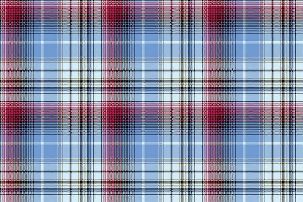 Verifique pixel xadrez têxtil textura sem costura padrão