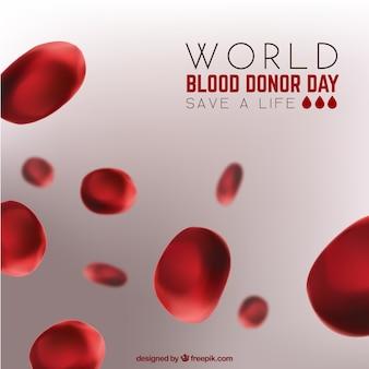 Vermelho, sangue, célula, fundo