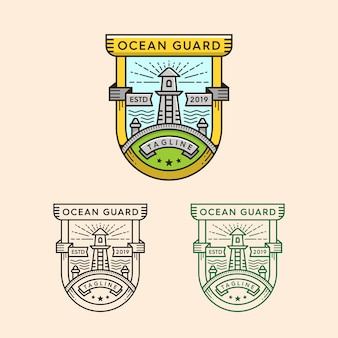 Versão do logotipo da casa clara
