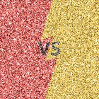 Versus conceito de glitter