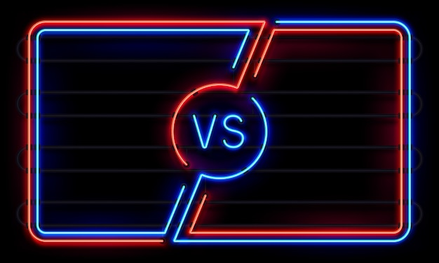 Versus quadro neon