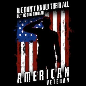 Veterano americano - não sabemos todos, mas devemos todos