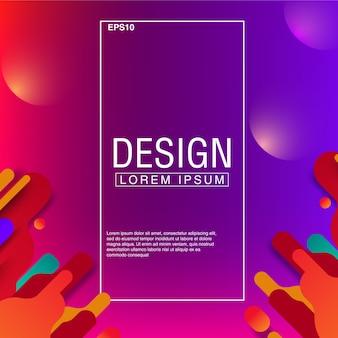 Vetor abstrato design de textura de fundo